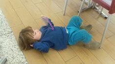 Vegin out on the floor at woden westfield Flooring, Hardwood Floor, Floor, Paving Stones, Floors