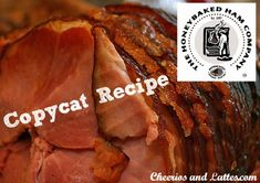 Honeybaked Ham Copycat Recipe- very excited to try this!
