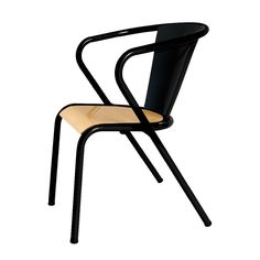 Chair Gonçalo Chair by Arcalo Metal Chairs, Wood Chairs, Dining Chairs, Dining Table, Wishbone Chair, Sofa Chair, Plywood, Chair Design, Indoor
