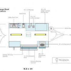 (#3006) 8.5 X 14 Example Floor Layout