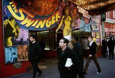 Broadway at 42nd Street, 1966. Photographer: Danny Lyon