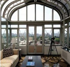 Rooftop observatory.