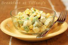 Breakfast at Tiffany's: Sałatka z awokado