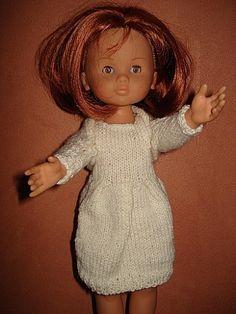 Fiche gratuite vêtements de poupées N°102:robe et chauffe épaules - Le blog de La malle ô trésor de Sylvie