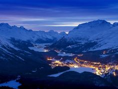 Stay at the luxurious Carlton Hotel St. Moritz in St. Moritz, Switzerland, and work with a Virtuoso travel Advisor to receive your free upgrades and amenities. Romantic Places, Beautiful Places, Beautiful Streets, Ski Europe, Places To Travel, Places To See, Travel Destinations, St Moritz, Paradis