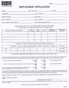 Print Out Mcdonald S Job Application Form In Pdf