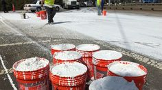 CHARLOTE N..C - Hundreds of gallons of paint spilled across Brookshire Blvd. http://www.wsoctv.com/news/local/hundreds-of-gallons-of-paint-spilled-across-brookshire-blvd/201981235