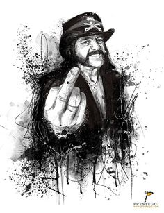 """""""Fuck god and fuck the devil and fuck the church too. I'm responsible for my actions. I don't need to hide behind nothing. The devil didn't make me do it, I did it... whatever I did."""" Official Motörhead Lemmy Kilmister Motörhead #lemmy #motorhead #england #heavymetal #god #speedmetal #overkill #aceofspades #rock #music #metal #drawing #portrait #illustration #brushes #watercolor #photoshop #mixedmedia"""