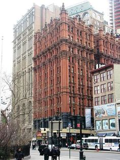 Daytonian in Manhattan: The 1886 Potter Building -- Park Row and Beekman Street