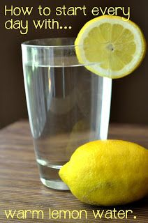 Why You Should Drink Warm Lemon Water in the Morning.
