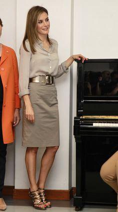 Doña Letizia visita su tierra por primera vez como Reina