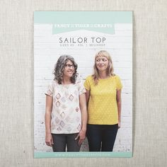 Sailor Top Printed Pattern | Fancy Tiger Crafts