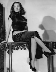 """classichollywoodcentral: """" Gene Tierney """""""
