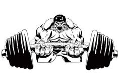 bodybuilder logo - Google Search