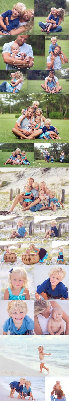 love this shoot... especially the one with the baby on the mom's lap