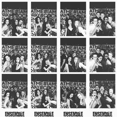 White Label Booth, totally customisable, beautiful photo's with social media content generating photo booth that takes up no space at all!  This was a great event! #Ensemble #StrongerTogether  Over 250 tweets and retweets featuring the event hashtag