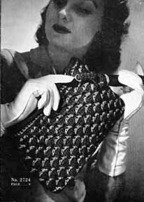 This free pattern originally published by The Spool Cotton Company, Book No. 219, in 1945