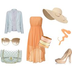 Pastels, created by maryane-larone on Polyvore