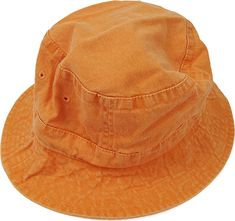 2b5d8f37 TANGERINE ORANGE XL Bucket Hat - Women Men Adams Casual Gift Cap - Price  Apparel Embroidery - 10 Colors Golf Garden Beach Bird Watching
