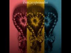 Peinado: Trenza Corazon - Heart Shaped Braid - YouTube