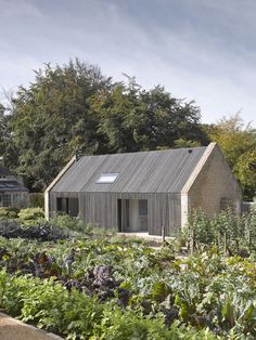 michaelis boyd associates / pool house and stables, gloucestershire modern vegetable and edible garden