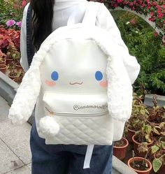 Backpacks are no longer reserved for school children. Kawaii Bags, Kawaii Clothes, Kawaii Fashion, Cute Fashion, Baby Buns, Style Japonais, Kawaii Accessories, Accesorios Casual, Cute Backpacks