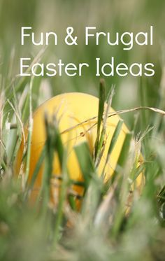 Fun and frugal Easter ideas. Recipes, Crafts. Fun for kids. #Easter