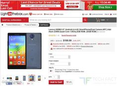 Lenovo K80M Smartphone Available for Just $189.99 at Lightinthebox.com