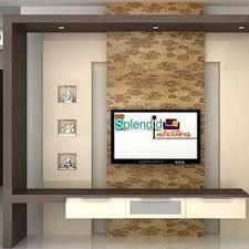 Image result for modern interior tv unit design Lcd Unit Design, Lcd Wall Design, Wall Unit Designs, False Ceiling Design, Contemporary Tv Units, Modern Tv Wall Units, Interior Design Photos, Modern Interior, White Tv Unit