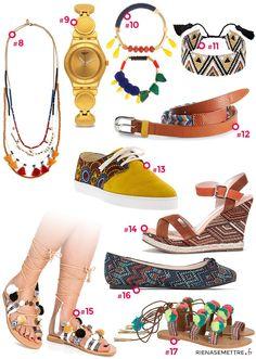 Accessoires, Bijoux et Chaussures femme style Africain - Imprimés Ethniques 7355620a897