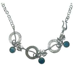 Beautiful 925 Sterling Silver necklace Roman by MichalDesigns, $185.00