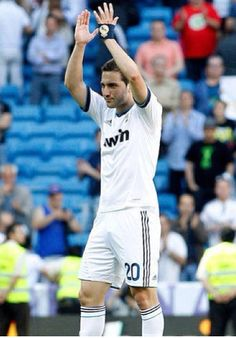 Higuain's last game with Real Madrid. I'm going to miss him a lot. :((