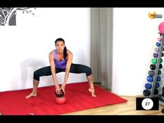KETTLEBELL BARRE FUSION WORKOUT - BARLATES BODY BLITZ Barre Bell HIIT with Linda Wooldridge - YouTube