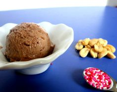 Milk Chocolate Ice Cream  with Toffee Crunch