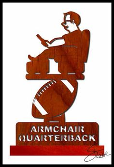 Sports Scroll Saw Patterns | Football plaque & optional ...