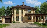 Проект дома C-222M - Проекты домов и коттеджей в Москве Gazebo, Outdoor Structures, Mansions, House Styles, Home Decor, Mansion Houses, Homemade Home Decor, Kiosk, Villas