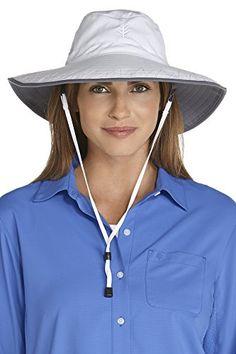 aa10f319ced Coolibar UPF 50+ Women s Shapeable Sun Catcher Hat - Sun ... https