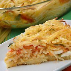 A fun Italian Spaghetti pie recipe the whole family will love.