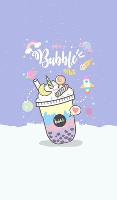 Read Drinks, food 🍰🍭 from the story 「Sưu Tầm Ảnh」My Gallery by (ƃuᴉꞀ) with 785 reads. Cute Food Wallpaper, Unicornios Wallpaper, Cute Pastel Wallpaper, Kawaii Wallpaper, Wallpaper Iphone Cute, Aesthetic Iphone Wallpaper, Galaxy Wallpaper, Disney Wallpaper, Wallpapers Kawaii