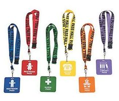 bathroom passes for classrooms