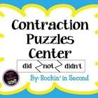 Hands on contraction puzzles center. Fun way to engage students in their work. Just print, laminate, and cut. 21 puzzles included....