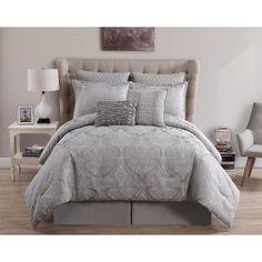 VCNY Rennes Woven Jacquard 8-piece Comforter Set