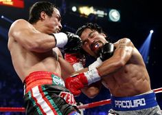Pacquiao KOd by Marquez in round 6 of fight IV.