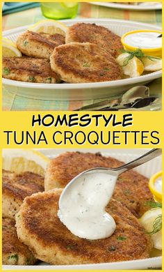 Tuna Croquettes are a classic, comfort-food favorite made with canned tuna, mashed potatoes, more yummy ingredients. They've been a family-favorite for years!