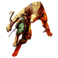 Shina is the step daughter of Gado and she first appeared in Bloody Roar 2. Description from giantbomb.com. I searched for this on bing.com/images