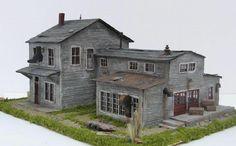 Model Train Miniatures ~ Boot & Show Factory