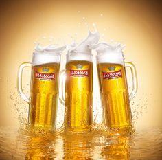 Natakhtari Beer mugs splash on Behance