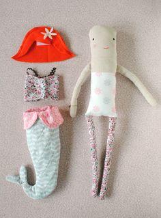 Milly the Mermaid Doll tutorial || MERMAG for Sarah Jane