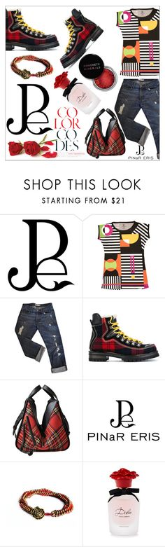 """""""Geometric Prints"""" by diamond-mara ❤ liked on Polyvore featuring J Brand, Dsquared2, Loewe, Concrete Minerals and Dolce&Gabbana"""