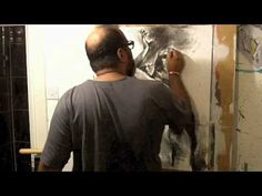 """""""Exit Strategy"""" Charcoal on Paper by Khalid Khan-KAAY - YouTube"""